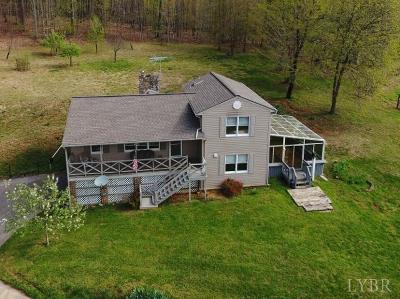 Single Family Home For Sale: 2909 Wheats Valley Road