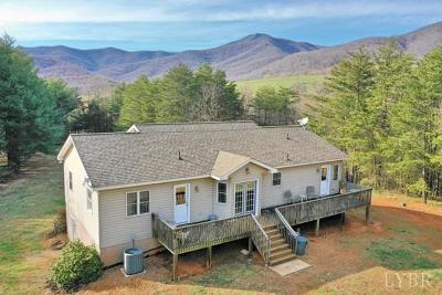 Amherst Single Family Home For Sale: 909 Mollys Mountain Road