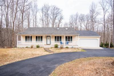 Bedford County Single Family Home For Sale: 3494 Hawkins Mill Road