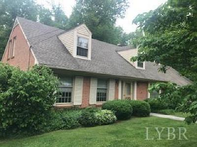 Lynchburg Single Family Home For Sale: 2200 Oriole Place