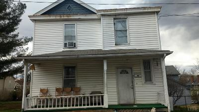 Lynchburg County Single Family Home For Sale: 915 17th Street