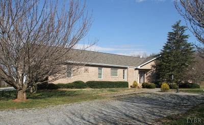Bedford County Single Family Home For Sale: 1849 Otter Hill Road