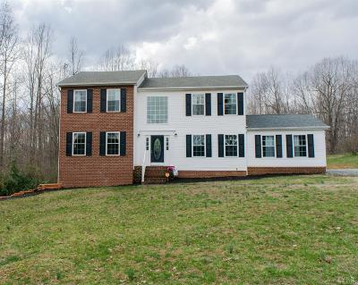 Rustburg Single Family Home For Sale: 1106 Dodson Drive