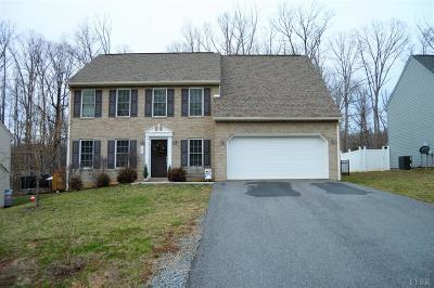 Bedford County Single Family Home For Sale: 1223 Forest Edge Drive