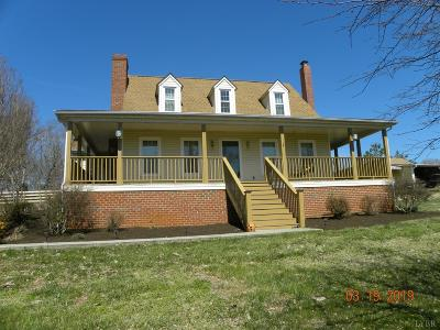 Bedford County Single Family Home For Sale: 1905 Elkton Farm Road