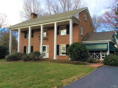 Lynchburg Single Family Home For Sale: 1001 Williamsburg Place