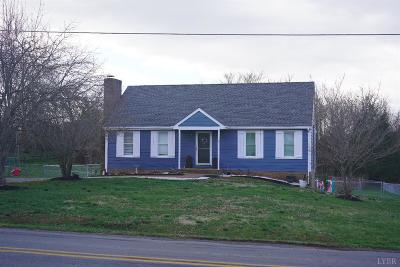 Bedford County Single Family Home For Sale: 1060 Old Farm Road