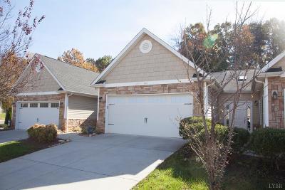 Lynchburg VA Condo/Townhouse For Sale: $210,000