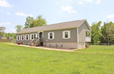 Bedford County Single Family Home For Sale: 2476 Quarles Road