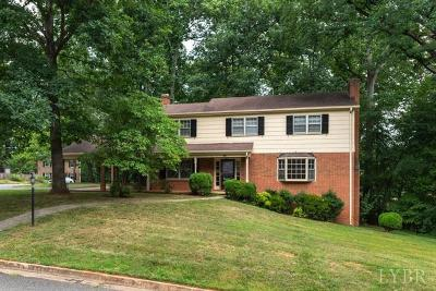 Lynchburg Single Family Home For Sale: 5201 Wedgewood Road