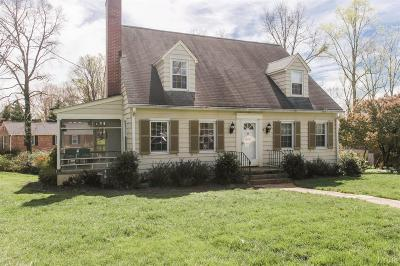 Lynchburg Single Family Home For Sale: 3701 Sherwood Place
