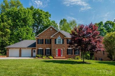 Lynchburg Single Family Home For Sale: 348 Wild Turkey Road