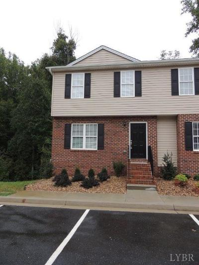 Lynchburg Condo/Townhouse For Sale: 110 Aaron Place
