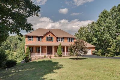 Bedford County Single Family Home For Sale: 2265 Walker Road