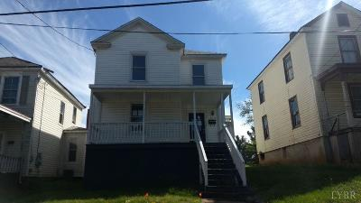 Lynchburg Single Family Home For Sale: 1015 Cabell Street