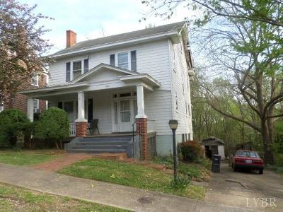 Lynchburg Single Family Home For Sale: 809 Byrd Street