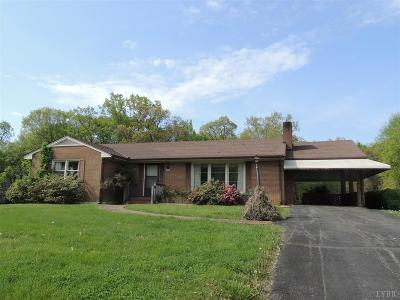 Madison Heights VA Single Family Home For Sale: $143,900