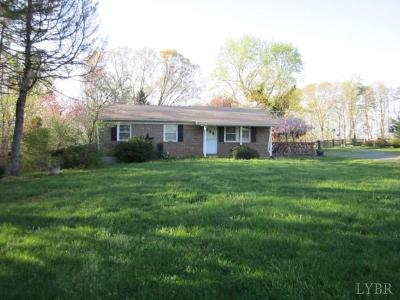 Lynchburg Single Family Home For Sale: 1199 Suburban Rd