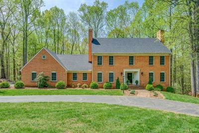 Lynchburg Single Family Home For Sale: 136 Irvington Springs Road