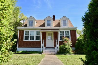 Madison Heights VA Single Family Home For Sale: $169,500