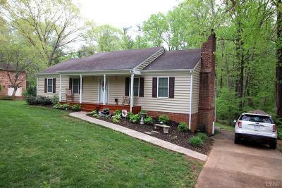 Lynchburg Single Family Home For Sale: 482 Burr Oak Road