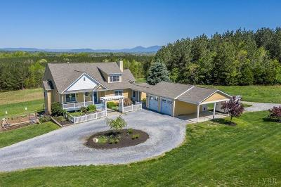Bedford County Single Family Home For Sale: 1933 Fancy Grove Road