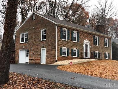 Evington, Rustburg, Lynchburg Single Family Home For Sale: 103 Dogwood Place