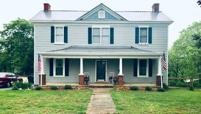 Bedford Single Family Home For Sale: 724 Burks Hill Road
