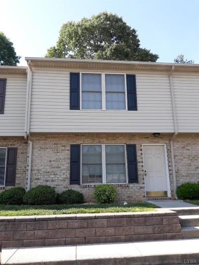 Lynchburg VA Condo/Townhouse For Sale: $122,700