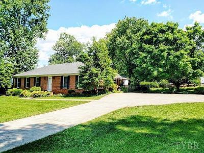 Lynchburg Single Family Home For Sale: 2625 Linkhorne Drive