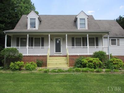 Forest VA Single Family Home For Sale: $190,000