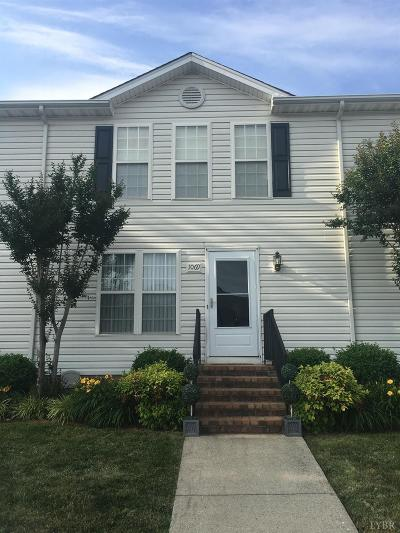 Forest Condo/Townhouse For Sale: 1069 Blue Ridge View Circle