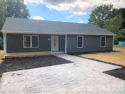 Lynchburg VA Single Family Home For Sale: $174,900