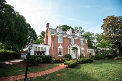 Lynchburg Single Family Home For Sale: 3819 Fort Avenue