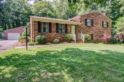 Campbell County Single Family Home For Sale: 409 Burr Oak Rd