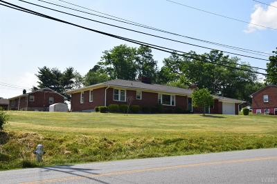 Lynchburg Single Family Home For Sale: 1211 Wards Ferry Road