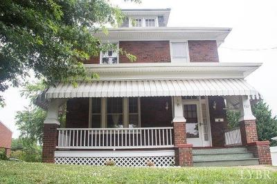 Lynchburg Single Family Home For Sale: 3107 Fort Avenue