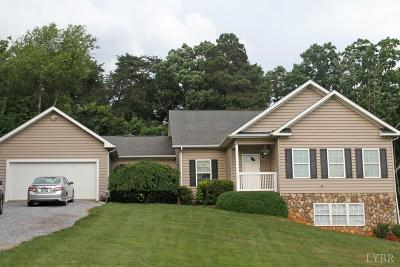 Bedford Single Family Home For Sale: 3639 W Lynchburg-Salem Turnpike