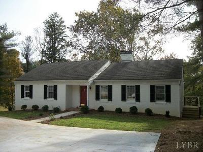 Lynchburg Single Family Home For Sale: 1416 Trents Ferry Road