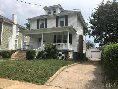 Lynchburg Single Family Home For Sale: 113 Langhorne Lane