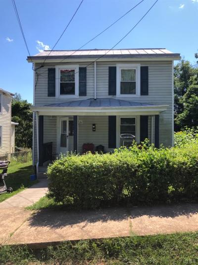 Lynchburg Single Family Home For Sale: 1711 Fillmore Street