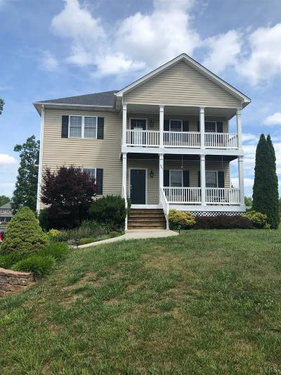 Rustburg Single Family Home For Sale: 487 Valley Drive