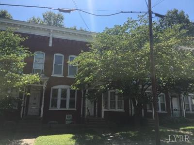 Lynchburg Condo/Townhouse For Sale: 617 Cabell Street