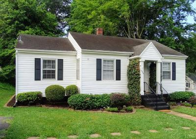 Lynchburg VA Single Family Home For Sale: $119,900