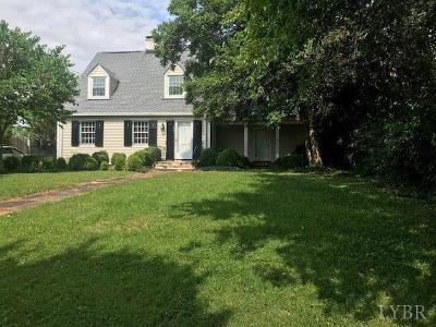 Lynchburg Single Family Home For Sale: 1615 Spottswood Place