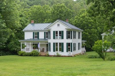 Monroe Single Family Home For Sale: 1376 Wares Gap Road