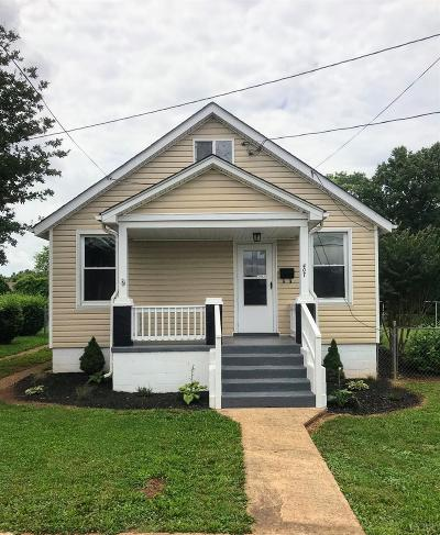 Lynchburg Single Family Home For Sale: 407 Smyth Street