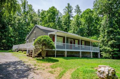 Rustburg Single Family Home For Sale: 172 Wilderness Road
