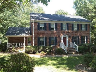 Altavista Single Family Home For Sale: 111 River Road