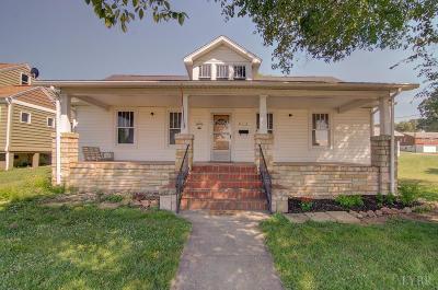 Altavista Single Family Home For Sale: 912 7th Street